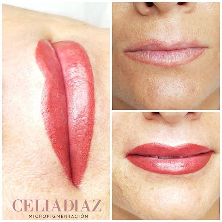 Micropigmentación labios precio